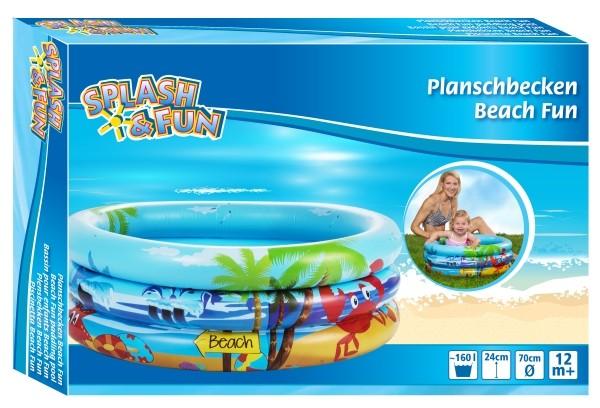 Splash & Fun Babyplanschbecken Beach Fun Ø 70 cm