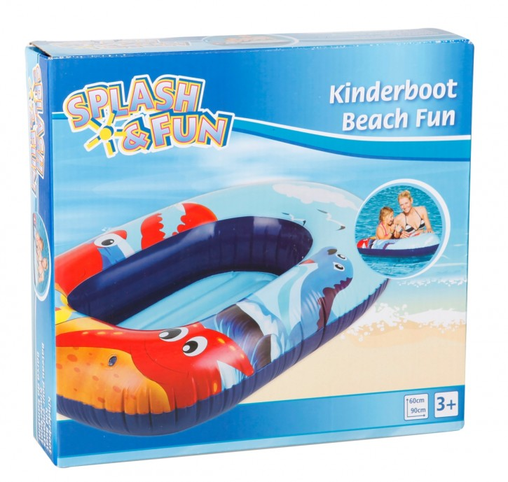 SF Kinderboot Beach Fun 90 x 60 cm B-Ware OVP