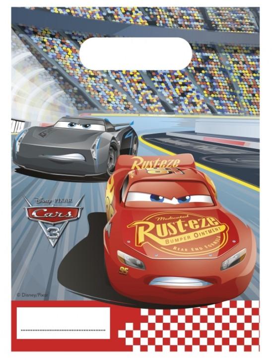 Disney Pixar Cars 3 Partytüten 6 Stck