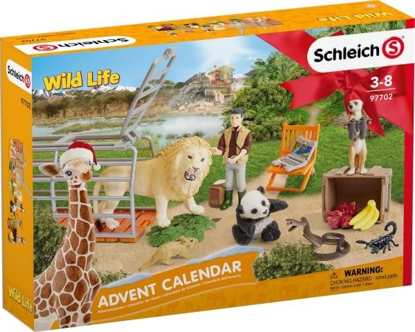 Schleich 97702 Adventskalender Wild Life 2018 B-Ware OVP