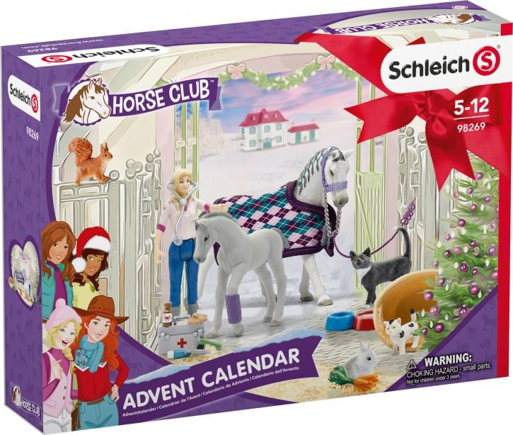 Schleich Horse Club  Adventskalender 2020 B-Ware OVP