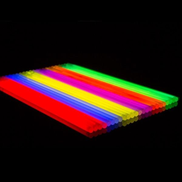 Knicklichter 25er Röhre 5 Farb-Mix +Verbinder