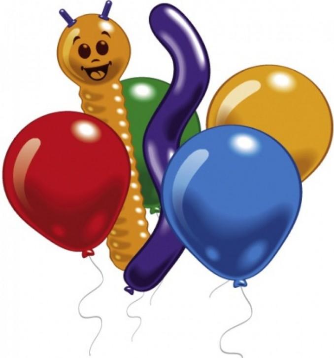 Luftballons sortiert 30 St.