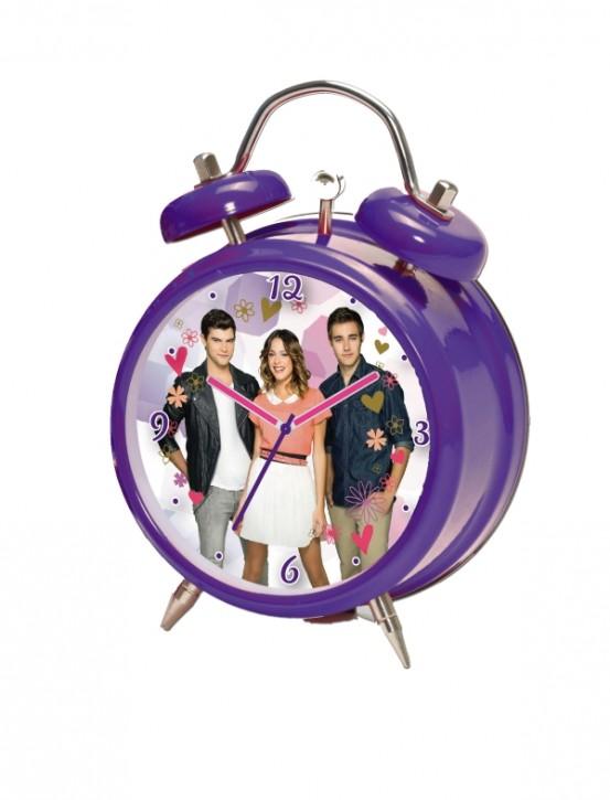 Disney Violetta Quarzwecker  9 cm B-Ware OVP