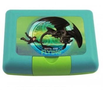 Dragons Brotdose mit Trenner 17,5x14x6.5cm