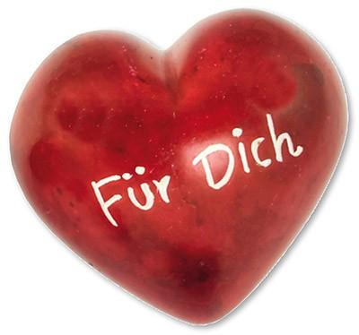 Für Dich Romantik-Herz Deko-Handschmeichler