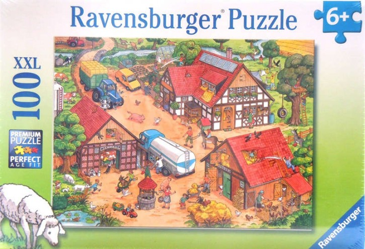 Ravensburger Puzzle Lustiger Bauernhof 100