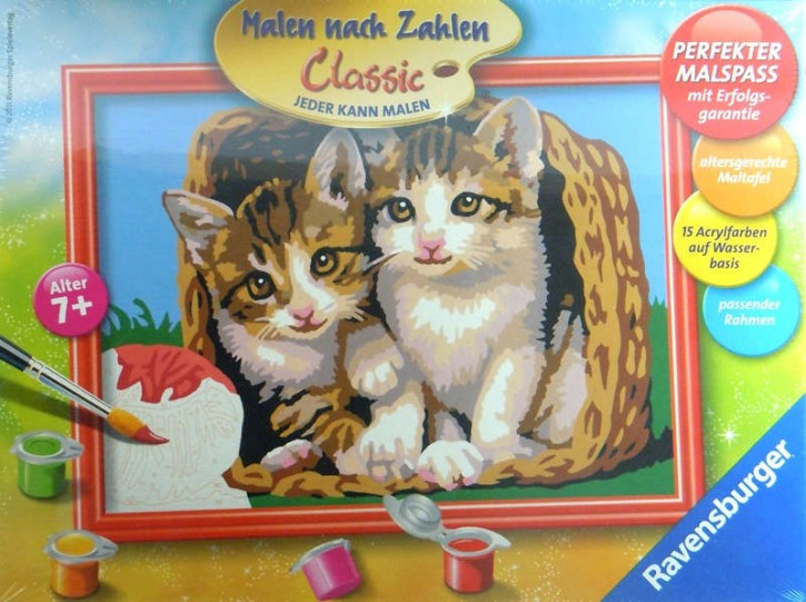Ravensburger MnZ Kätzchen im Korb 18 x 24