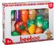 Beeboo Schneidebrett mit Gemüse Spielset 20tlg Kunststoff
