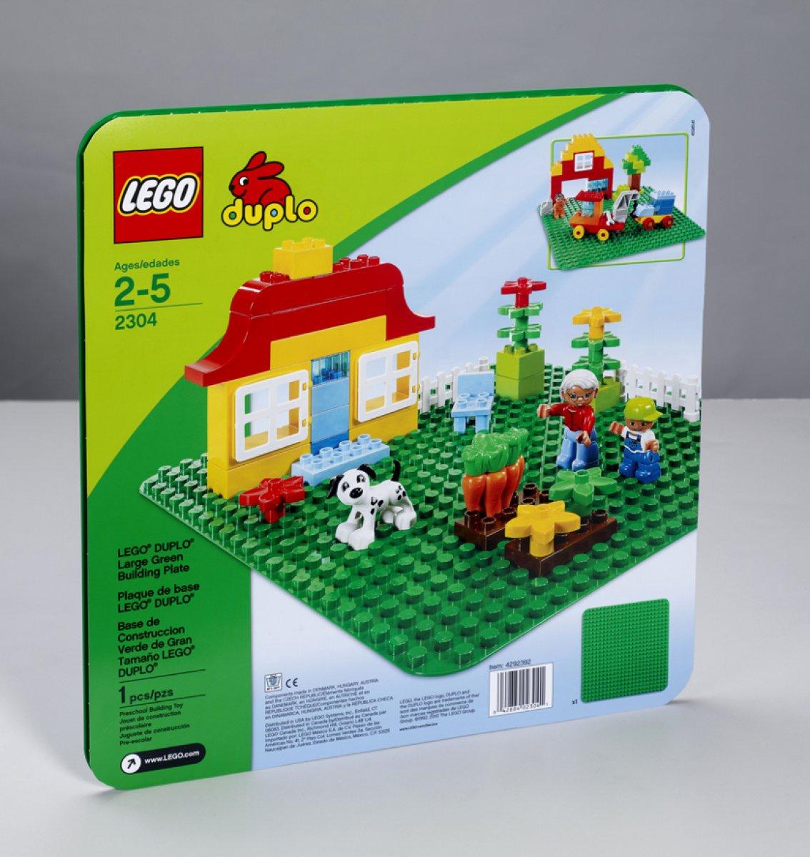 Lego 2 x Platte 6x10 rot 3033 Basic