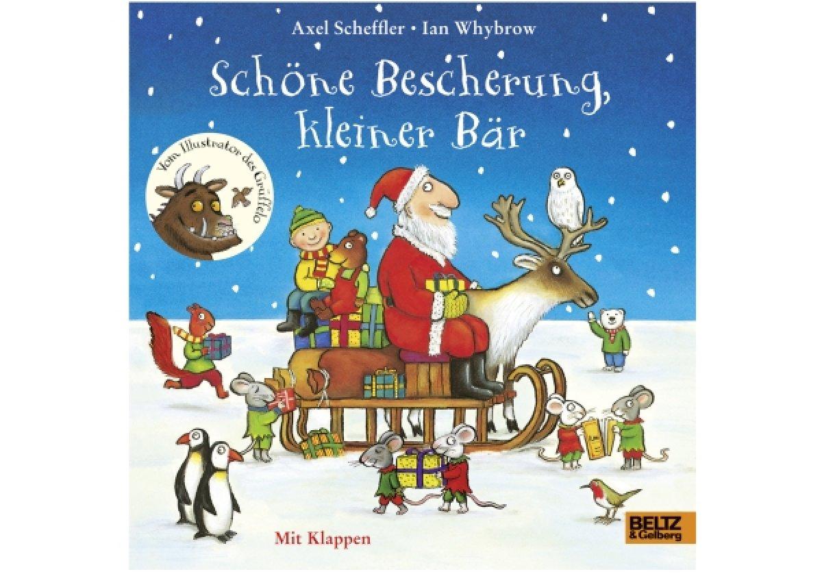 Bilderbuch Tannenbaum.Schöne Bescherung Kleiner Bär Weihnachts Bilderbuch Ab1j