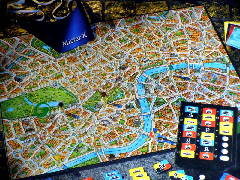 Scotland Yard Brettspiel