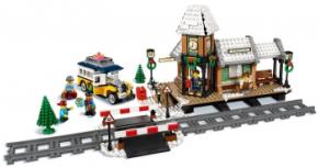 10259 LEGO® Creator Winterlicher Bahnhof 902 Teile