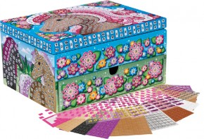Sticky Mosaik Schmuckkästchen Pferd