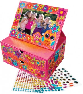 Sticky Mosaik Flip Frame Jewelry Box