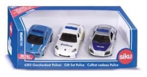 SIKU 6302 Geschenkset Polizei