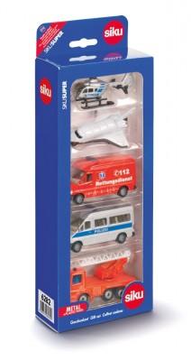 SIKU 6282 Geschenkset Einsatzfahrzeuge