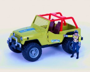 BRUDER Jeep Cross Country Racer Grün 4+j