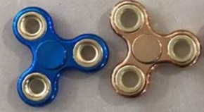 Krazy Spinner Chrome Edition gold