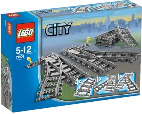 LEGO City Trains 7895 Weichen