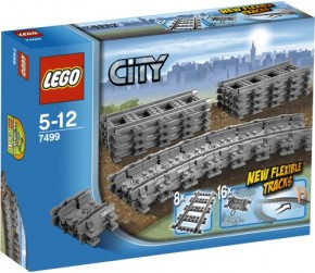 LEGO City Trains 7499 Flexible Schienen