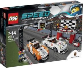 LEGO Speed Champions 75912 Porsche 911 GT Ziellinie