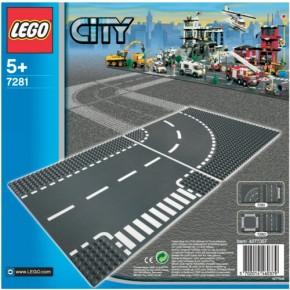 LEGO City 7281 Kurve T-Kreuzung