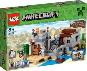 LEGO Minecraft 21121 Der Wüstenaußenposten