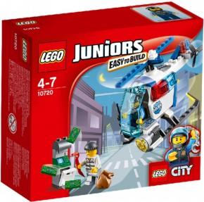 LEGO® Juniors 10720 Verfolgung mit dem Polizeihelikopter B-Ware