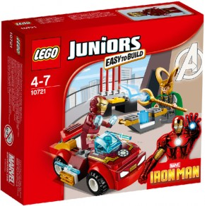 LEGO® Juniors 10721 Iron Man gegen Loki