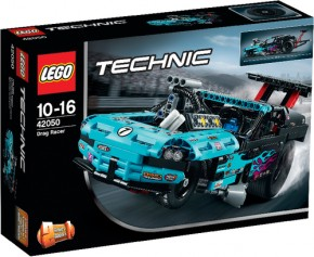 LEGO Technic 42050 Drag Racer 2in1Set B-Ware OVP
