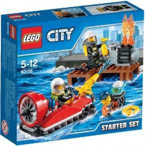 LEGO City 60106 Feuerwehr Starter Set