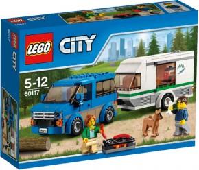 LEGO City 60117 Van & Wohnwagen