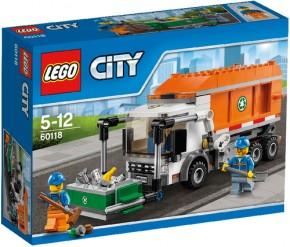LEGO City 60118 Müllabfuhr - B-Ware ungeöffnete OVP