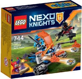 LEGO Nexo Knights 70310 Knighton Scheiben Werfer B-Ware