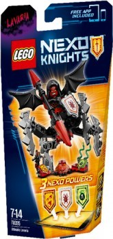 LEGO Nexo Knights 70335 ULTIMATIVE Lavaria B-Ware OVP