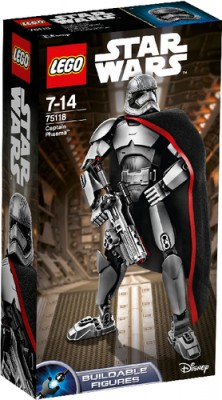 LEGO Star Wars 75118 Actionfigur Captain Phasma B-Ware