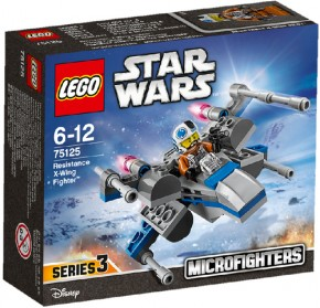 LEGO Star Wars 75125 Microfighters Resistance X-Wing Fighter B-Ware