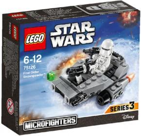 LEGO Star Wars 75126 Microfighter First Order Snowspeeder