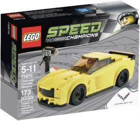 LEGO Speed Champions 75870 Speed Chevrolet Corvette Z06