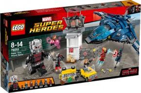 LEGO Marvel Super Heroes 76051 Superhelden-Einsatz am Flughafen B-Ware