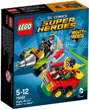 LEGO DC Universe Super Heroes 76062 Mighty Micros Robin vs. Bane B-Ware OVP