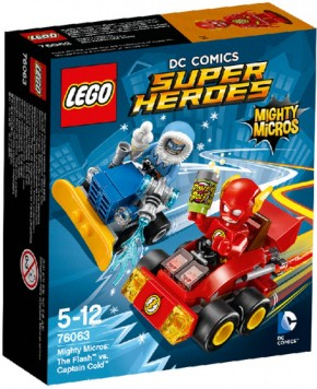 LEGO DC Universe Super Heroes 76063 Mighty Micros The Flash vs. Captain Cold