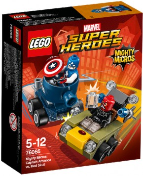 LEGO Marvel Super Heroes 76065 Captain America vs. Red Skull