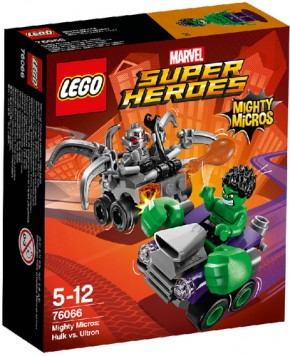 LEGO Marvel Super Heroes 76066 Mighty Micros Hulk vs. Ultron