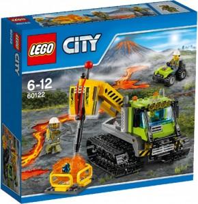 Lego  60122 City Vulkan-Raupe B-Ware ungeöffnete OVP