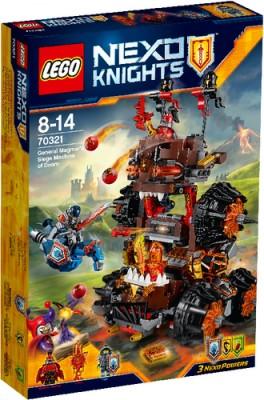 LEGO® Nexo Knights 70321 General Magmars Schicksalsmobil