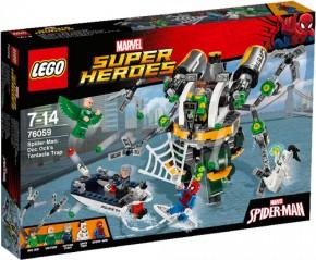 Lego 76059 Marvel SH Spider-Man Doc Ocks Tentakelfalle B-Ware OVP