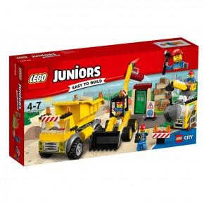LEGO 10734 Juniors Große Baustelle