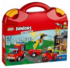 LEGO 10740 Juniors Löschtrupp Koffer B-Ware OVP